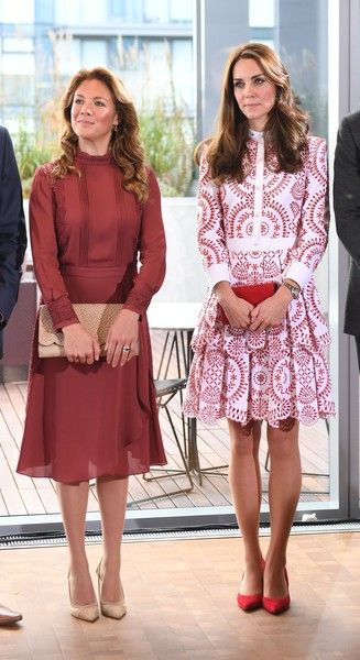 Kate Middleton Photos Photos - Sophie Gregoire Trudeau, wife of Canadian Prime Minister Justin Trudeau and Catherine, Duchess of Cambridge attend the Young Canadians reception and celebration at the Telus Gardens during the Royal Tour of Canada on September 25, 2016 in Vancouver, Canada. - 2016 Royal Tour to Canada of the Duke and Duchess of Cambridge - Vancouver, British Columbia