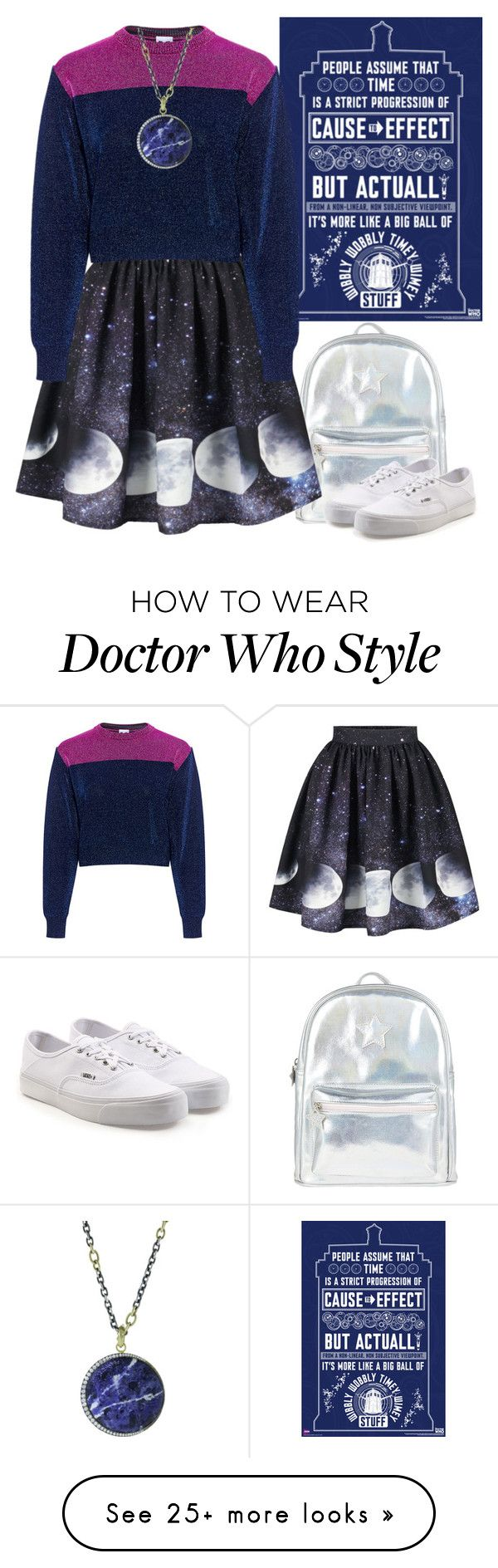 """all of time and space"" by fangirlibrarian on Polyvore featuring Accessorize, Vans, M Missoni and Sylva & Cie"