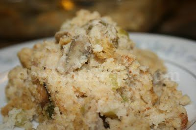 Deep South Dish: Southern Cornbread and Oyster Dressing (Stuffing)