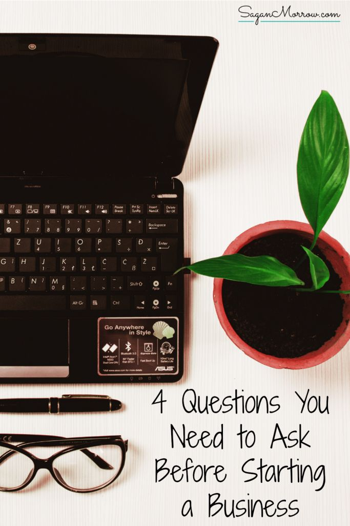 Is starting a small business right for YOU? Read this article to find out the top 4 questions you MUST ask yourself before launching your own business! ~ small business tips ~ being a small business owner ~