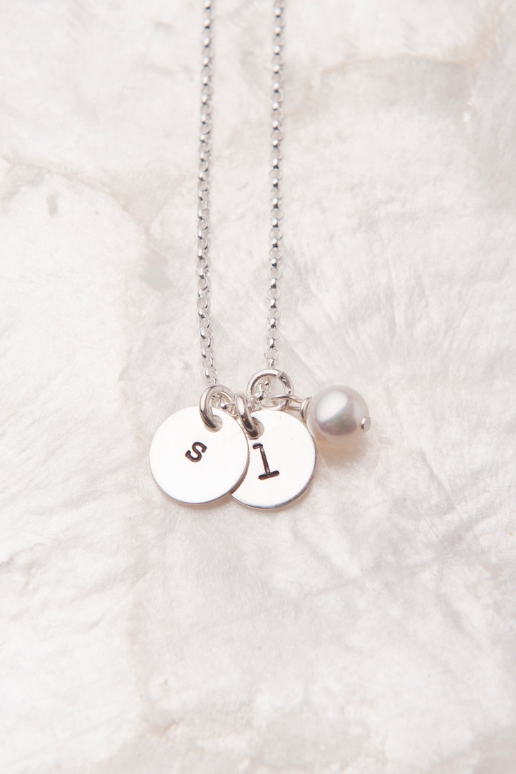 gift push mom charm necklace personalized present custom sterling babyfoot initial jewelry baby silver new footprint