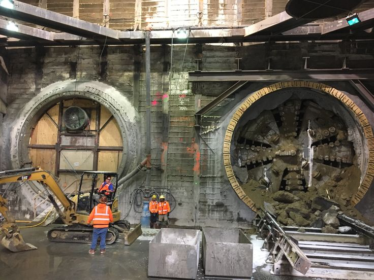 Harriet the tunnel boring machine completes second rail tunnel for Crenshaw/LAX Line | The Source