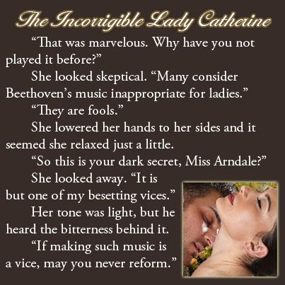 Excerpt from The Incorrigible Lady Catherine (Book #1 of The Three Disgraces)