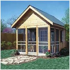10 best images about shed plans building kits on for Build your own backyard office
