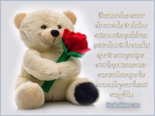 Imagenes con frases de buenos días para mi pareja y amigos: MiZancudito.com