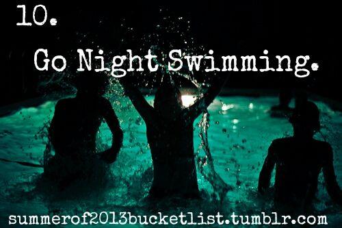 bucket list |
