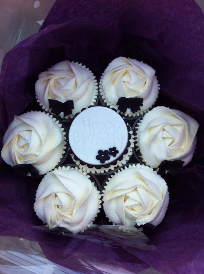 8 best Cupcake bouquets images on Pinterest   Cupcake bouquets ...