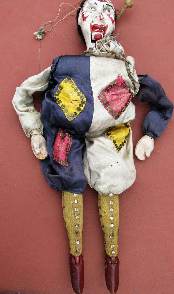 1000+ images about Antique Puppets And Marionettes on ...