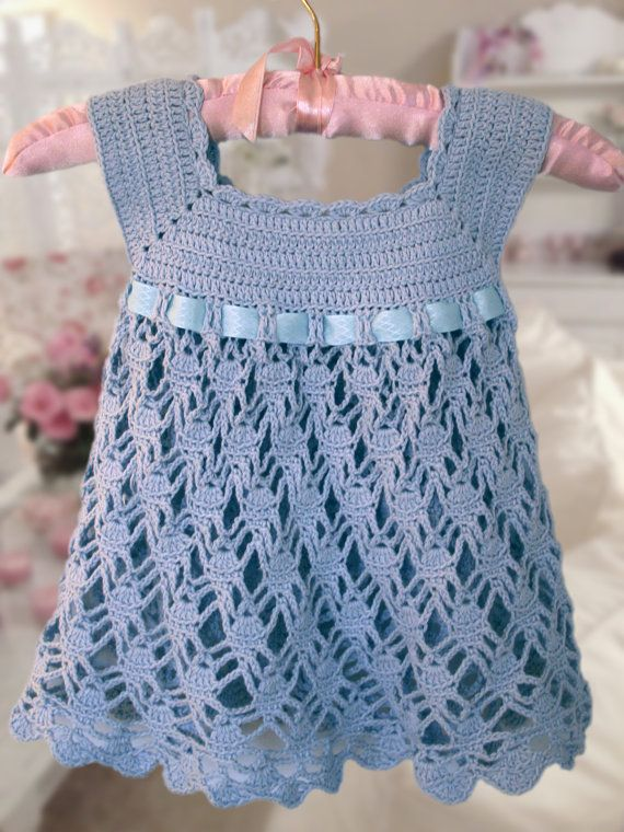 Lovely easy crochet baby dress patterns, the perfect way to dress up your baby. So enjoyable to create something with your own two hands. Free patterns too