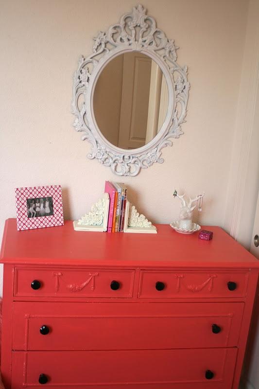Simply Design: coral dresser