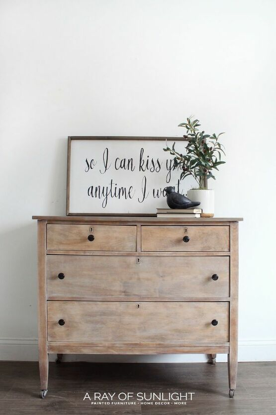 how to paint a diy weathered wood dresser in 2019 home decor rh br pinterest com