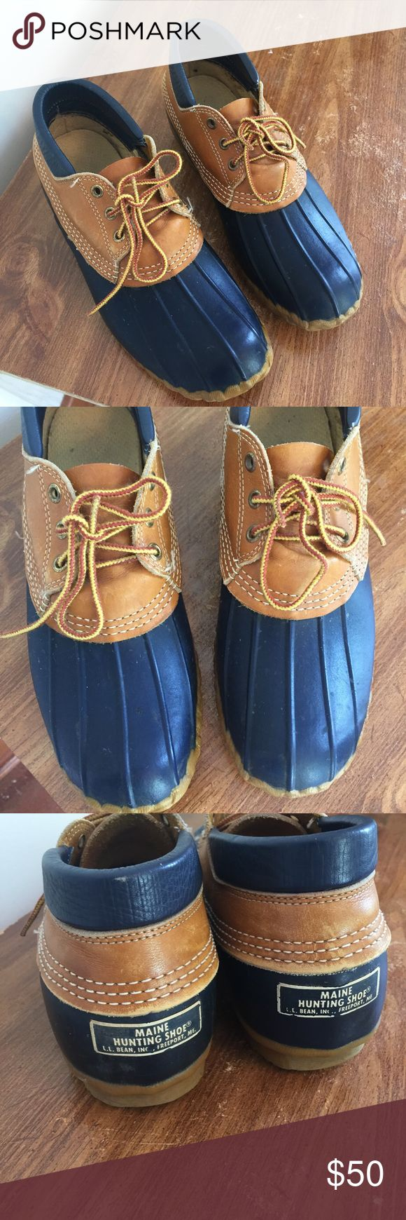 Classic L.L. Bean Duck Shoe Maine Hunting shoes. Super classic and practical. Make an offer and bundle and save! L.L. Bean Shoes Winter & Rain Boots