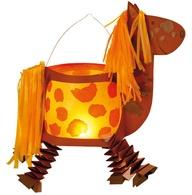 Knutselen 3d: Paard lampion.