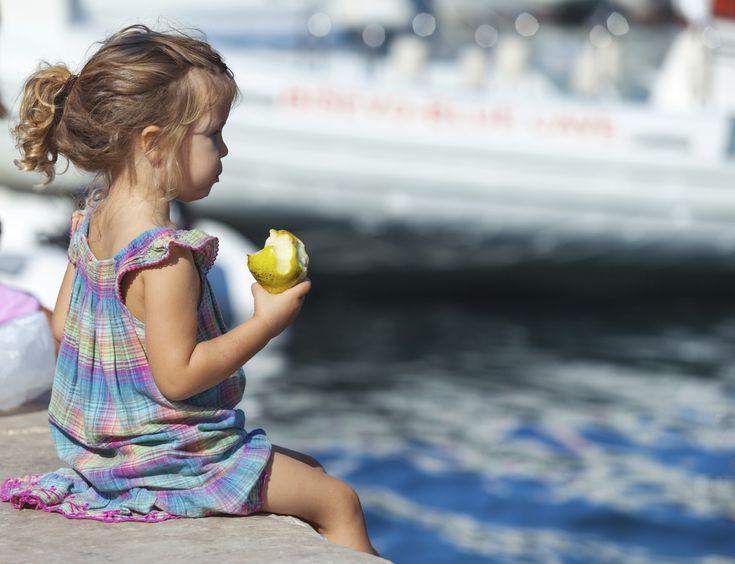 In spiaggia con i bambini, pasti salutari anche in vacanza