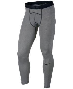 Nike Men's Pro Dry Compression Leggings - Gray 2XL