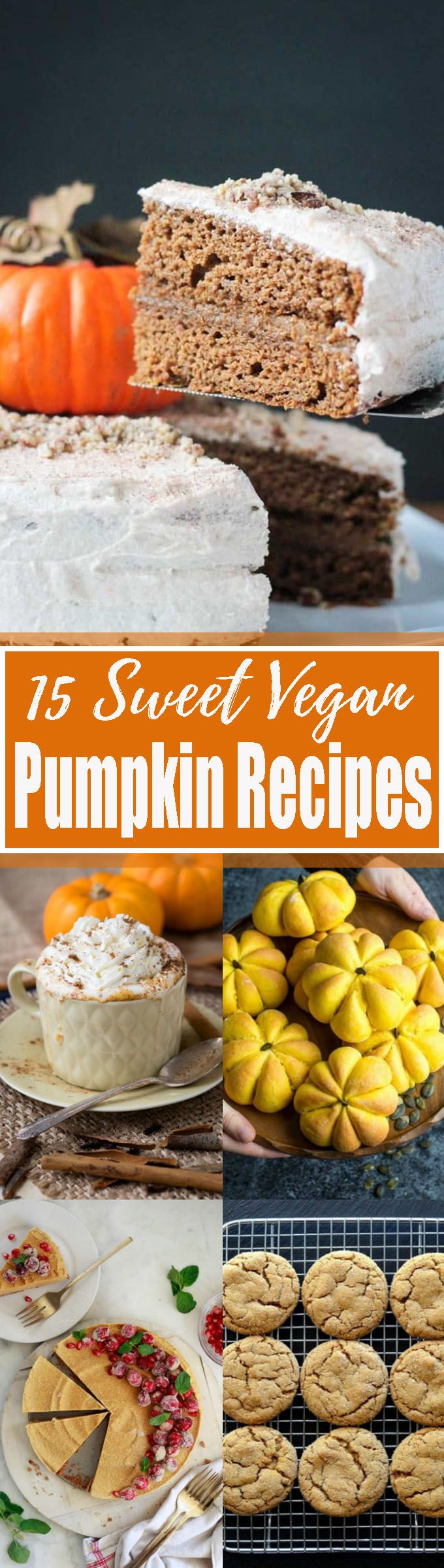 35 Stunning Vegan Pumpkin Recipes You Need To Try This Fall!! Yaay! Pumpkin season is finally here! I'm a real pumpkin addict, so I just had to put together a massive roundup of delicious vegan pumpkin dessert recipes. <3   veganheaven.org