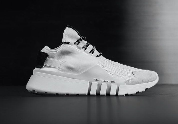 8ce391146bc23 The adidas Y-3 Ayero White (Style Code  AC7203) features a White mesh and  leather upper paired with Black branding atop a White rubber sole.  Sneakers