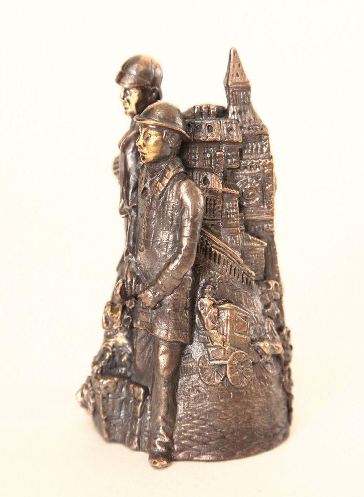Bronze Bell - Sherlock Holmes & Dr. Watson in London | eBay