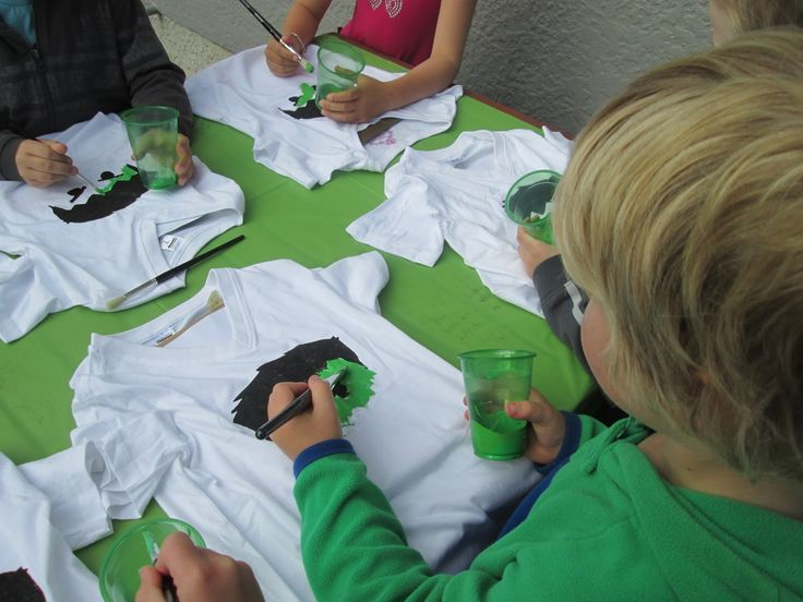 Hulk Tshirt Party Activity