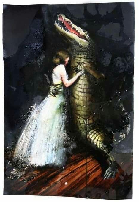 Andrea Lehmann, Neues Kleid, 2013 Öl, Dammar, Haare auf Papier 39 x 58 cm