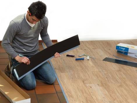 die besten 25 vinyl planken ideen auf pinterest. Black Bedroom Furniture Sets. Home Design Ideas