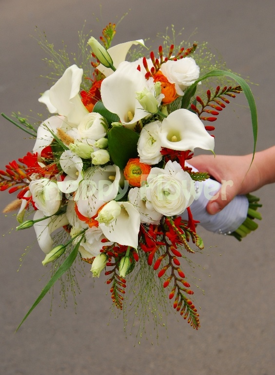 Spring flowers bouquet - weddings