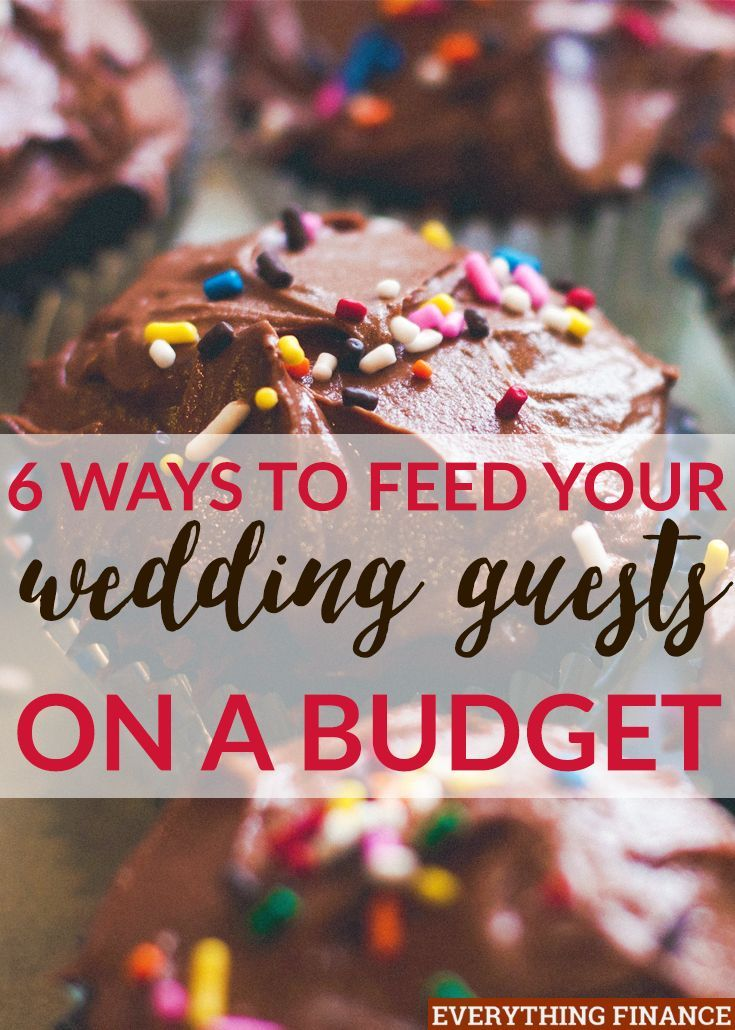 Feeding Your Wedding Guests on a Budget