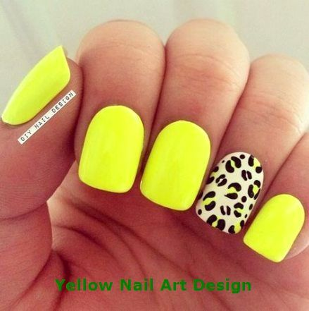 29+ super Ideas nails bright yellow neon   – Sunny Yellow Nails