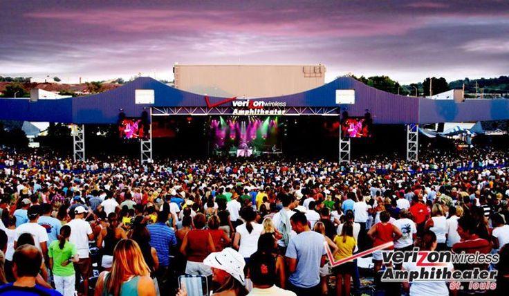 Verizon Wireless Amphitheater St Louis Seating Chart