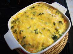 Brokkolis rakott tészta, rengeteg sajttal