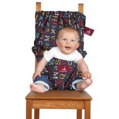 cadeira portatil de pano para bebe Totseat Chair Harness mamae tagarela 25 Itens de Um Enxoval de Bebê Moderno (de 0 a 2 anos)