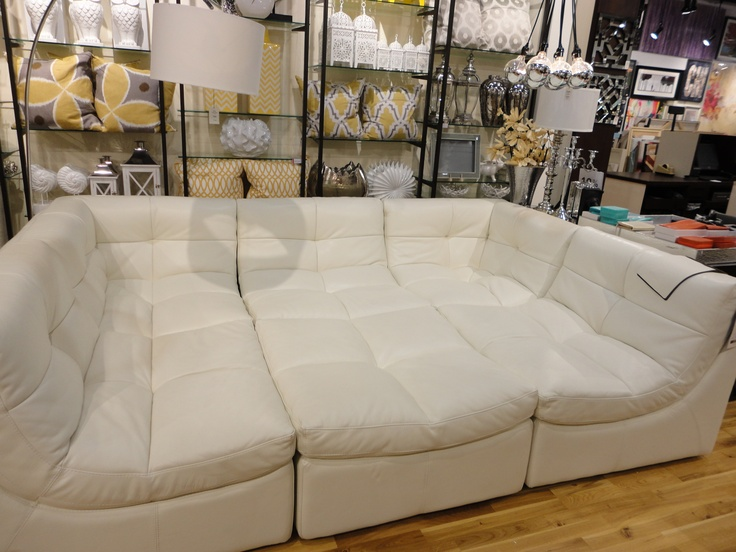 This Couch Is Super Cool Looks Like A Bed But Those Are All Small Individual Pieces That Come
