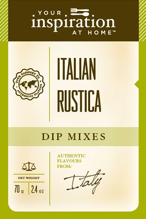 Italian Rustica Dip To purchase go to www.sharonking.yourinspirationathome.com.au