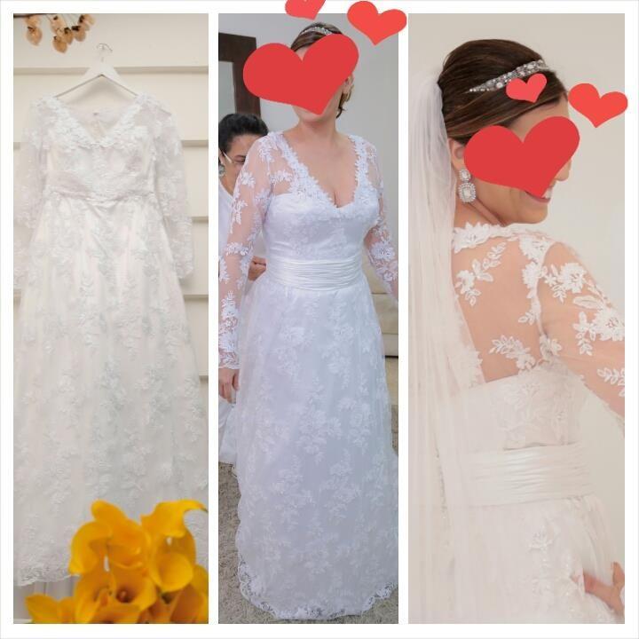 venda de vestido de noiva da Themis