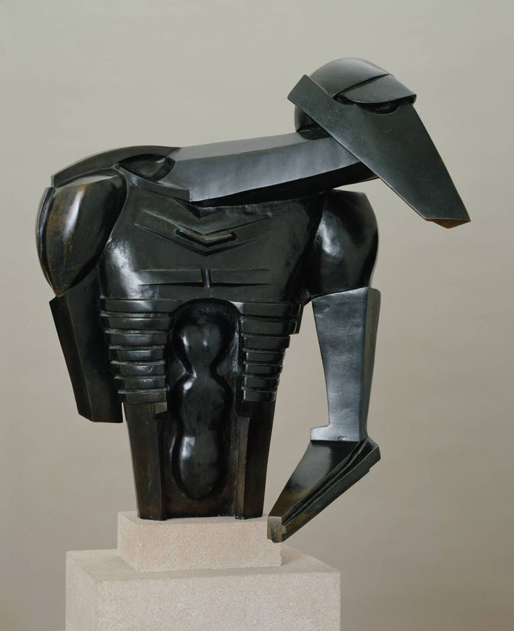 Jacob Epstein - Torso in Metal from 'The Rock Drill' (1913-14) | Tate (Londen)