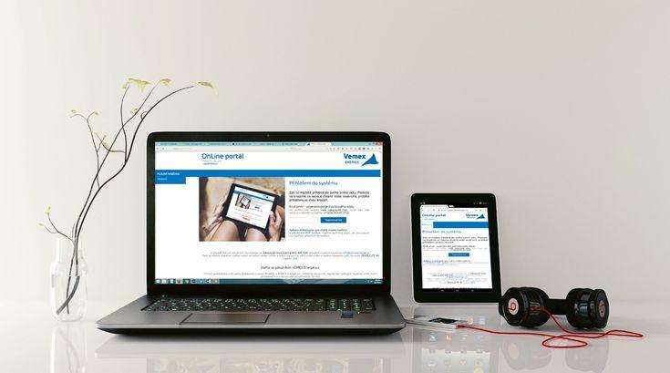 VEMEX Energie OnLine Portál vám po přihlášení umožní většinu svých požadavků vyřešit z pohodlí vašeho domova.