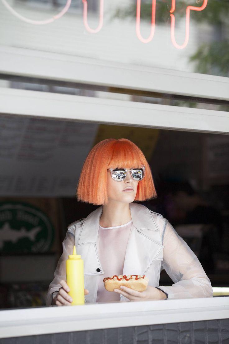 Editorial de Moda: Orange | NYLON