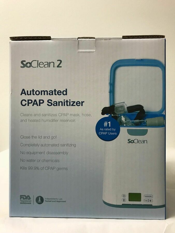 Soclean 2 Automated Cpap Equipment Cleaner And Sanitizer Machine Sc1200 New 187293000860 Ebay Cpap Cleaning Cpap Sanitizer