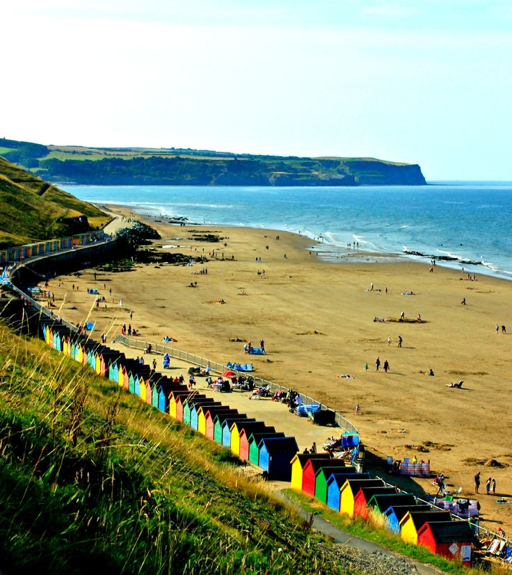Beach huts @ Whitby Helen Templeton Photography