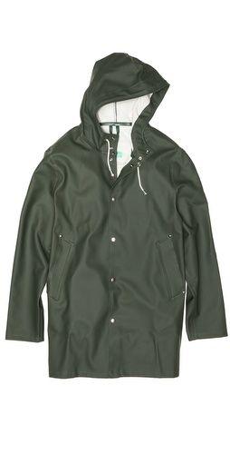 Stutterheim Stockholm Gron Raincoat