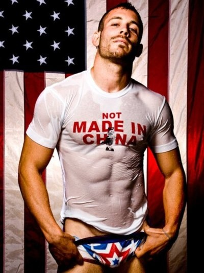 God bless America! Don't know who this is but Hot Damn!!!