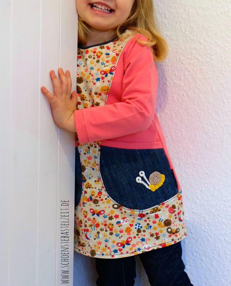 Ein Benta-Kleid als Tunika - genäht von (c) www.schoenstebastelzeit.de