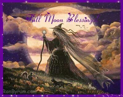 Full moon blessings
