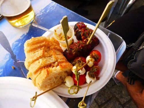Tapas Bayres Beef Madrid Spain