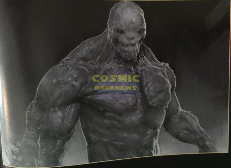 More Batman Vs. Superman Doomsday & Batman Battle Concept Art - Cosmic Book News