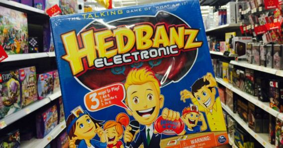 Add to your game collection on the cheap with this Spin Master Games Hedbanz Electronic Card Game for just $4.97 at Walmart!