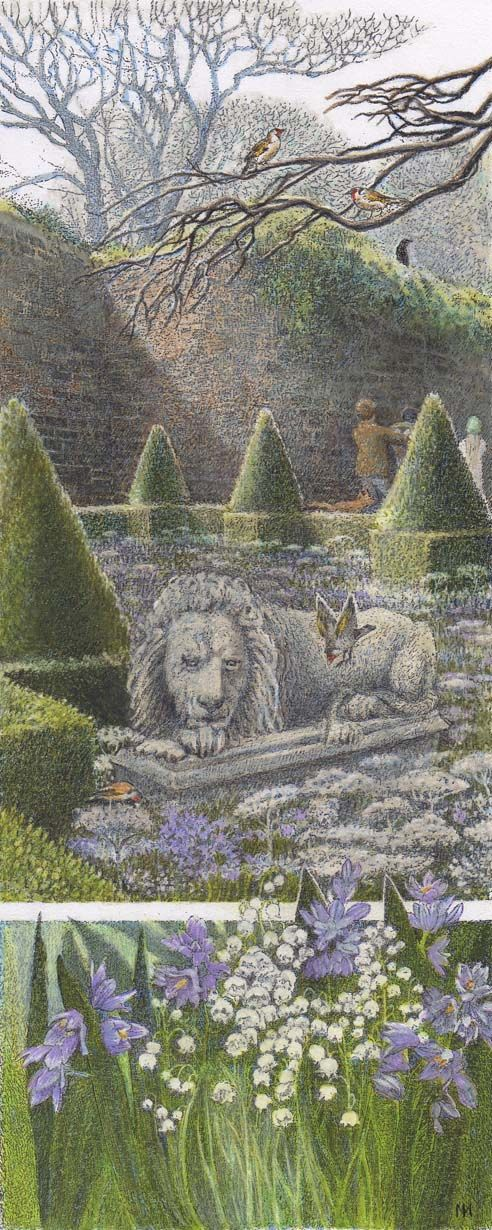 The Illustration Cupboard - Inga Moore - The Secret Garden
