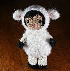 Ravelry: Lana the little lamb girl amigurumi pattern pattern by Mia Zamora Johnson