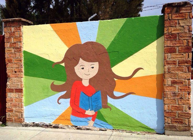 Murales en escuelas de Guadalajara. #proyectodearteurbano #arteentuescuela #murales #artwall