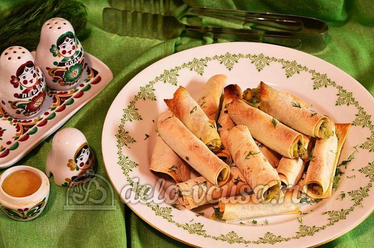 Лаваш с сыром и луком #лаваш #сыр #закуски #еда #рецепты #деловкуса #готовимсделовкуса